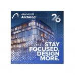Archicad 24 Young Architects Program - licenta permanenta individuala + subscriptie ArchiClub pe un an