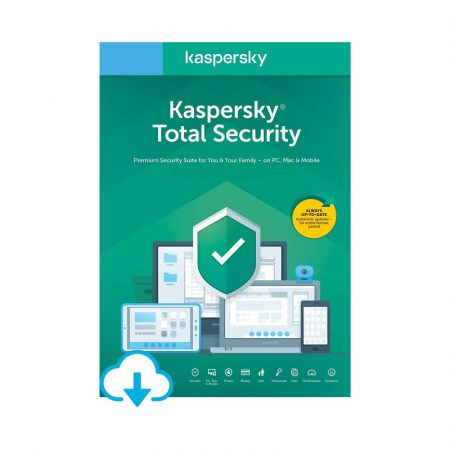 Kaspersky Total Security 2 Ani 2 Dispozitive - licenta electronica