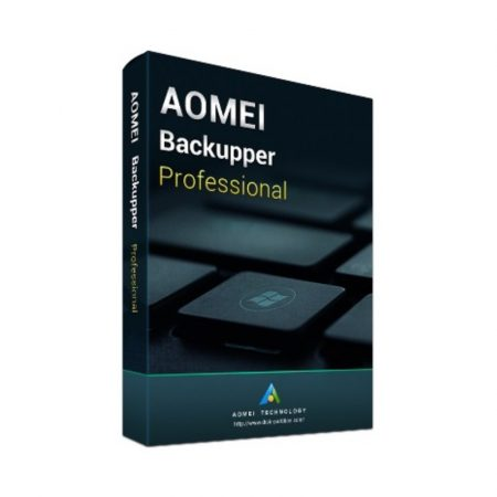 AOMEI Backupper Professional - 2 PC - licenta electronica