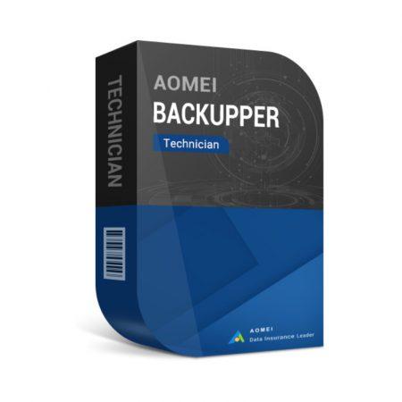 AOMEI Backupper Technician - Unlimited PC  - licenta electronica