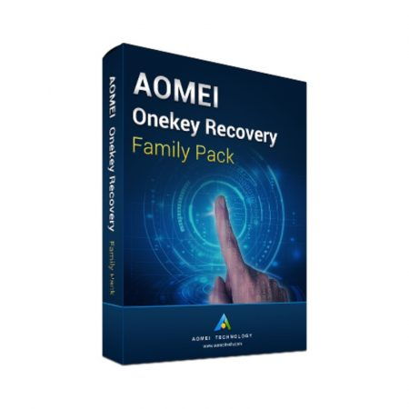 AOMEI Onekey Recovery Family - 4 PC - licenta electronica