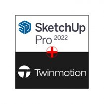 SketchUp Pro 2021 anuala + Twinmotion 2021 - pachet licente