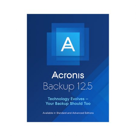 Acronis Cyber Backup Advanced Server - subscriptie anuala