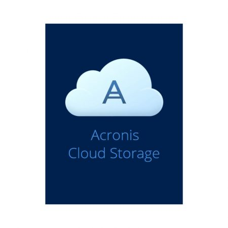 Acronis Cloud Storage 250 GB - subscriptie anuala
