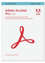 Adobe Acrobat Pro 2020 Multiple Platforms IE - licenta permanenta