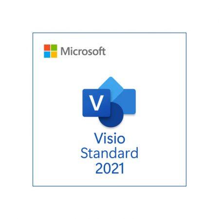 Microsoft Visio Standard 2019 - licenta permanenta