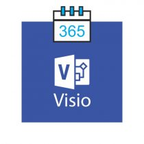 Microsoft Visio Plan 1 - subscriptie anuala
