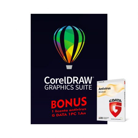 CorelDRAW Graphics Suite 2021 Win - licenta electronica permanenta