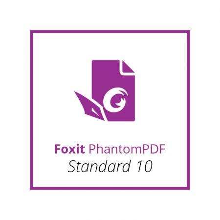 Foxit PhantomPDF Standard 10 - licenta permanenta
