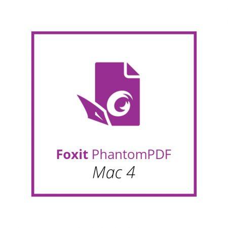 Foxit PhantomPDF Mac 4 - licenta permanenta