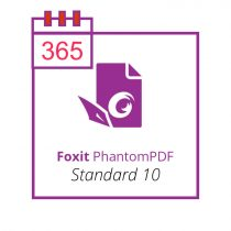 Foxit PhantomPDF Standard 10 - subscriptie anuala