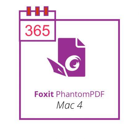 Foxit PhantomPDF Mac 4 - subscriptie anuala