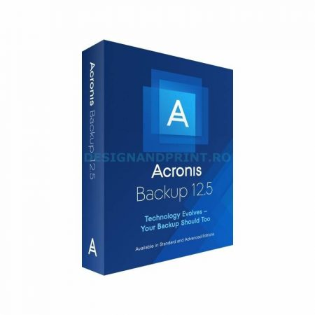Acronis Cyber Backup 12.5 Advanced Server - licenta electronica