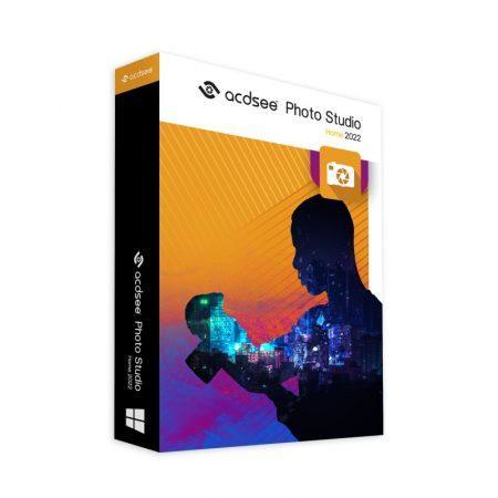 ACDSee Photo Studio Home 2021 Upgrade - licenta electronica permanenta
