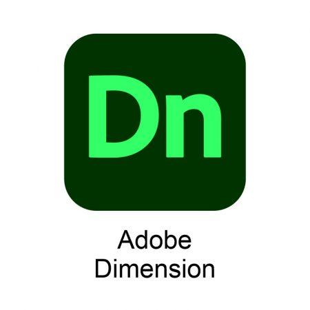 Adobe Dimension CC for teams Multiple Platforms EU English 1 User L1 - subscriptie anuala
