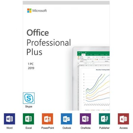Microsoft Office Professional Plus 2019 - licenta electronica
